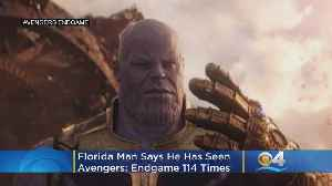 Florida Man Tries To Break World Record By Watching 'Avengers: Endgame 114 Times & Counting [Video]