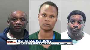 3 charged with attempted murder released by judge for $500 [Video]