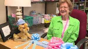 North Carolina Woman Leads Group That Makes Bows for Newborns at Women's Hospital [Video]
