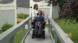 Family Struggling With ALS Diagnosis Has Home Transformed [Video]