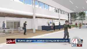 Truman Museum closing its doors for a year for renovation [Video]