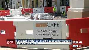 Business owner concerned over months-long street project [Video]