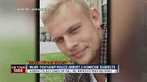 Police arrest two suspects in Miami Township homicide [Video]