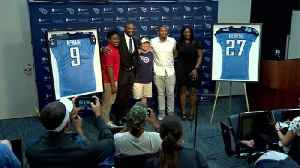 McNair and George Jerseys to be retired [Video]