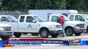 School district auctioning off old vehicles [Video]