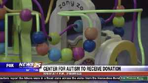 Center for Autism to Receive Donation [Video]