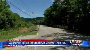 Guardrail to be installed on Cherry Tree Road in Gurley after dangerous crashes [Video]