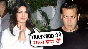 Priyanka Chopra TAUNTS Salman Khan For Leaving Bharat | The Sky Is Pink Party | INSIDE VIDEO [Video]