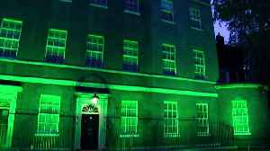Downing Street lit green for Grenfell two year anniversary [Video]