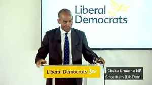 Chuka Umunna joins Liberal Democrats [Video]