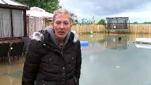 Two months of rains falls in two days in Linconshire [Video]