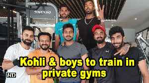 Exclusive | ICC planning forces Kohli & boys to train in private gyms [Video]