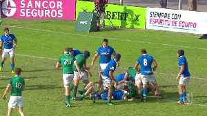 Best five tries from day 3 at the U20s Championship [Video]
