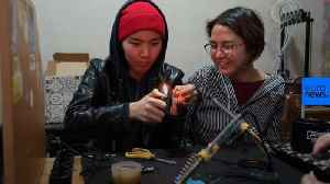 Watch: Young women aim to build Kyrgyzstan's first satellite [Video]