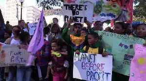 South African youths hold climate march through streets of Cape Town [Video]