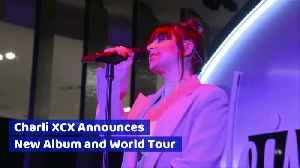 Charli XCX Announces New Album and World Tour [Video]