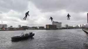 Flying high: New jet suits unveiled in London [Video]