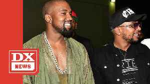 Kanye West & CyHi The Prynce Finishing Albums To Close Out Summer 2019 [Video]