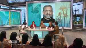 The Talk - Jennifer Aniston Says 'silver fox' Steve Carell Was Secret Crush on Set [Video]
