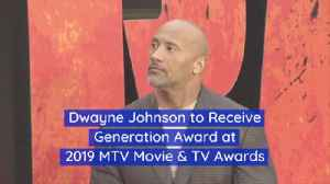 Dwayne Johnson Joins Other Celebrities With This Award [Video]