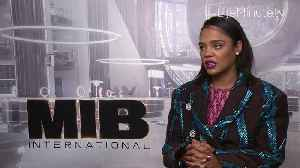 Chris Hemsworth and Tessa Thompson Team Up for Men in Black: International [Video]