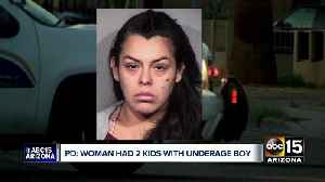 31-year-old Phoenix woman has second child with underage father [Video]