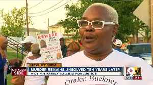 After 10 years, shooting victim's family still hopes for arrest [Video]