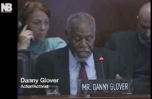 News video: Danny Glover calls for reparations