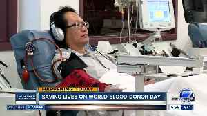 Today is World Blood Donor Day [Video]