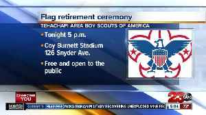 Tehachapi Area Boy Scouts of America hosting flag retirement ceremony [Video]