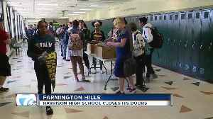 Harrison High School in Farmington Hills closing down after 49 years [Video]