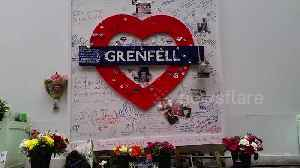 Tributes laid out on second anniversary of Grenfell Tower fire [Video]
