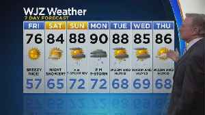 Bob Turk Has A Look At Your Thursday Evening Forecast [Video]