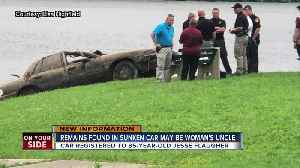 Remains found in sunken car may be man missing since 2006 [Video]