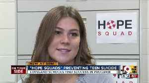 Loveland students fight teen suicide with a year of hope [Video]