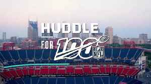 NFL players, prospects volunteer in Nashville before the 2019 NFL Draft for Huddle for 100 [Video]