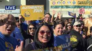 Ticket Prices Soar for Final Warriors Game at Oracle [Video]