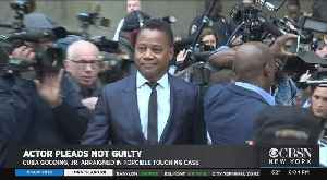 Cuba Gooding Jr. Arraigned On Groping Allegations [Video]