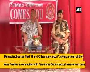 News video: Tanushree Dutta Nana Patekar case Police files closure report no evidence found against actor