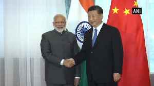 News video: SCO summit: PM Modi holds bilateral meeting with Xi Jinping, discusses Pak