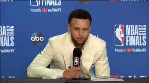 Post Game: Stephen Curry [Video]
