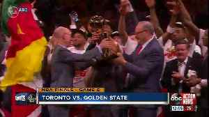 News video: Toronto Raptors bring first NBA title back to Canada