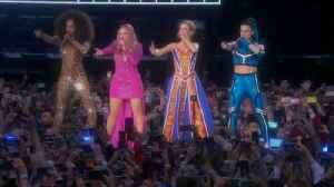 News video: Spice Girls back at Wembley, 21 years on