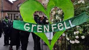 Locals arrive at church commemoration marking Grenfell Tower fire's second anniversary [Video]