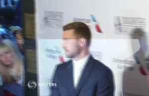News video: Justin Timberlake and stars strut their stuff at Songwriters Hall of Fame