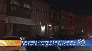 Man Dead, 1 Custody After Fight Over Noise, Police Say [Video]
