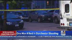 1 Dead After Dorchester Shooting [Video]