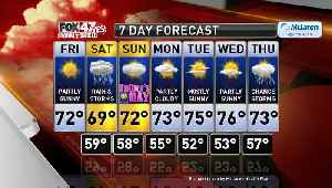 Claire's Forecast 6-14 [Video]