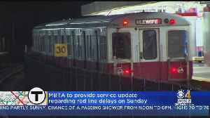 MBTA Red Line Service Continues To Suffer Days After Derailment [Video]