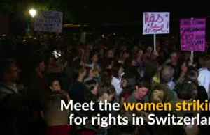 Swiss women strike for equal pay and rights [Video]